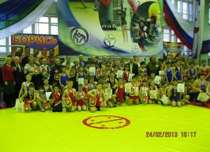 Past Sunday in our city  took place open tournament on Greco-Roman wrestling