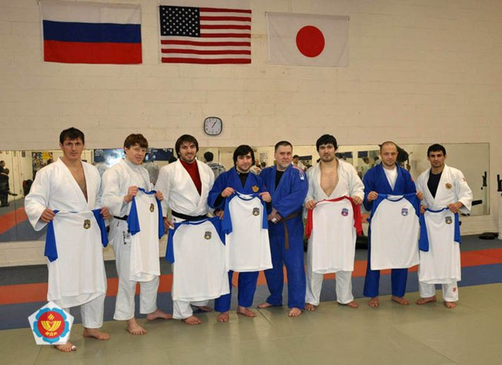 The Russian stars of judo visited the USA