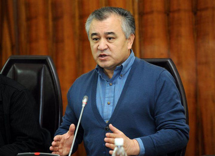 Лидер фракции Ата Мекен парламента Киргизии депутат Омурбек Тек