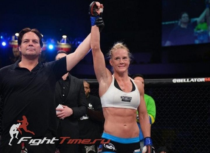 HALLE HOLM CONDUCTS NEGOTIATIONS WITH UFC