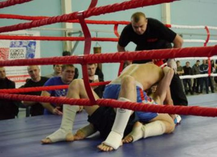 The mixed fighting single combat Championship of the Samara region took place