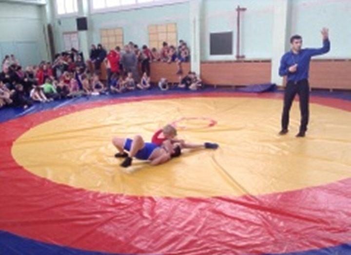 Соревнования по греко римской борьбе