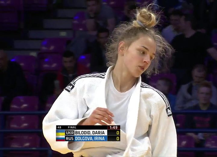 16-летняя украинка стала чемпионкой Европы по дзюдо + Видео