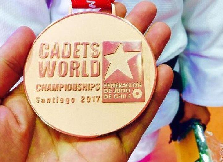 Юная одесситка завоевала бронзу чемпионата мира по дзюдо