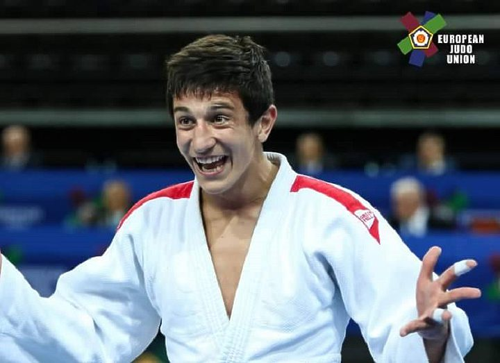 Лаша Бекаури стал чемпионом мира на юношеском чемпионате по дзюдо