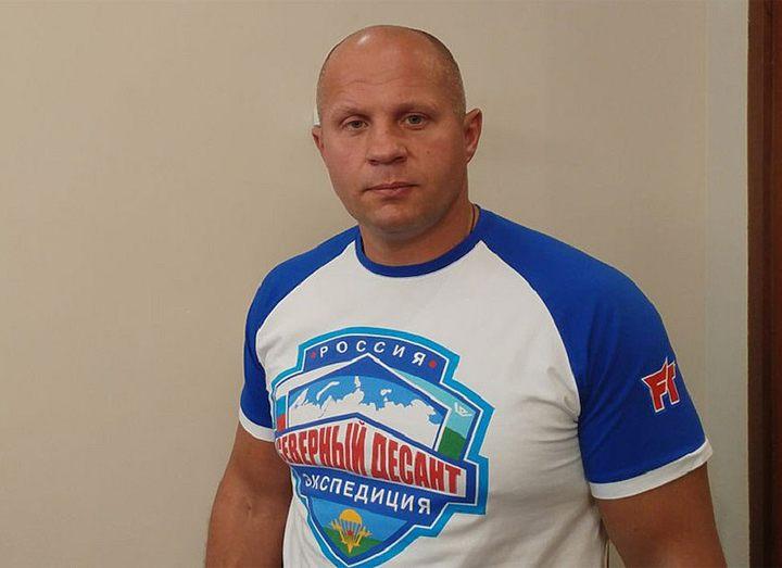 Федор Емельяненко: «Даст Бог, в Гран-При Bellator у меня будет три соперника»