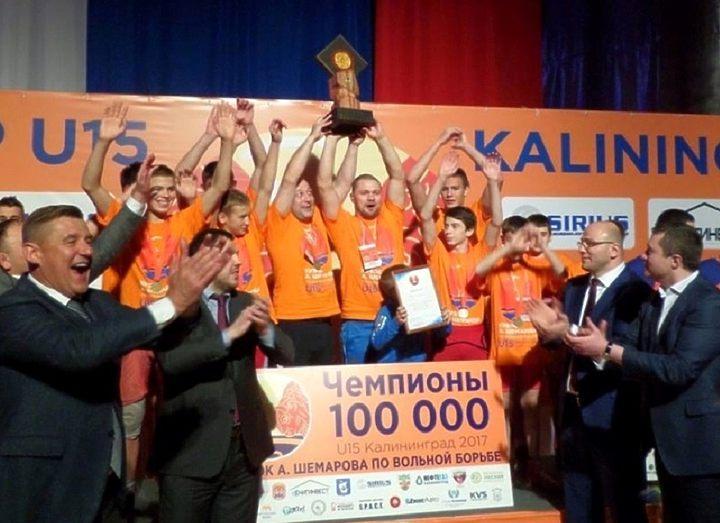 Уик-энд борьбы в Калининградской области