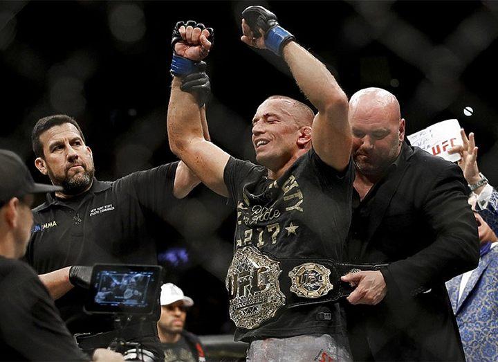 Джордж Сент-Пьерр не планирует защищать титул UFC в среднем весе