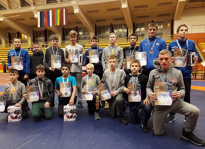 Борцы ДЮСШ отлично выступили на открытом чемпионате Риги