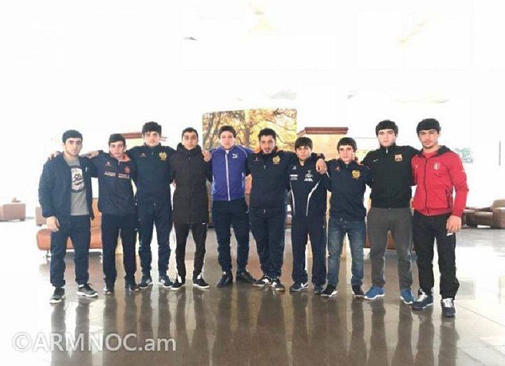 Молодые борцы завоевали 4 медали на международном турнире