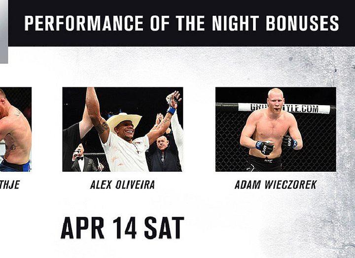 Бонусы турнира UFC on FOX 29