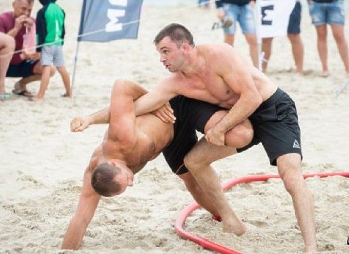 Международный турнир по пляжной борьбе