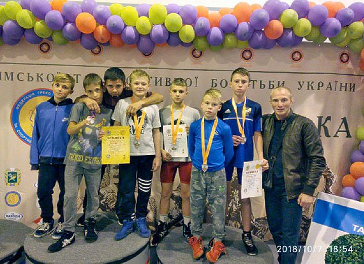 6 медалей со Всеукраинского турнира по греко-римской борьбе