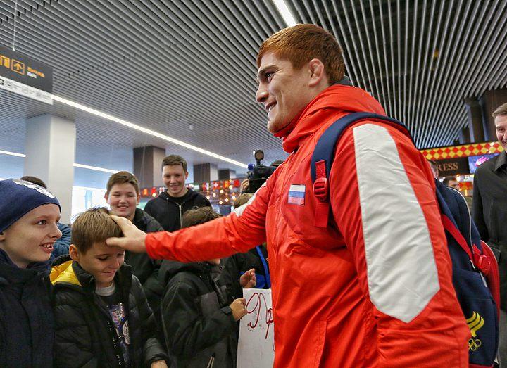 В Калининград приехал чемпион мира по греко-римской борьбе Муса Евлоев