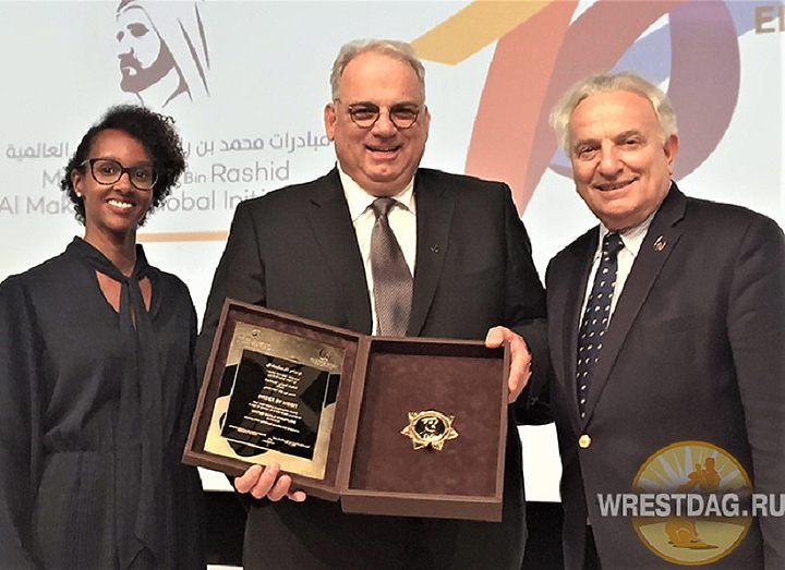 Объединенный мир борьбы награжден престижной премией