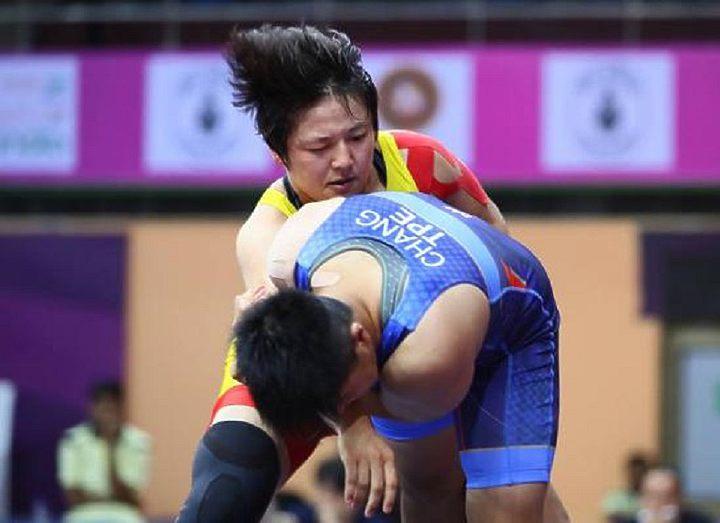 Чемпионат Азии по борьбе