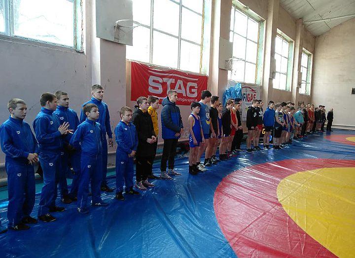 В Шостке прошел зональный чемпионат Украины по греко-римской борьбе