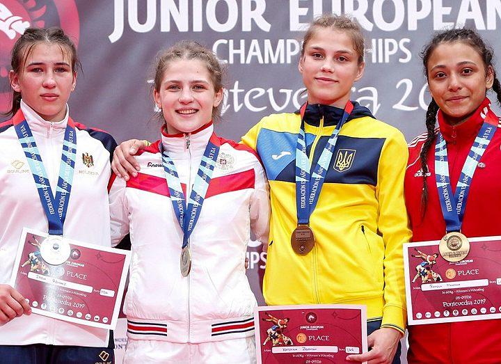 Итог девяти лет тренировок – «бронза» юниорского чемпионата Европы по борьбе