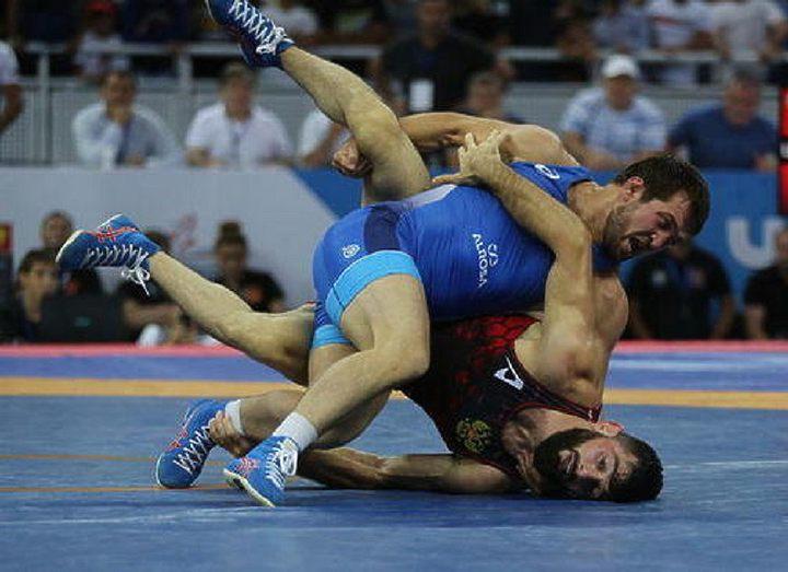 Магомед Курбаналиев - лучший борец ЧР-2019 по вольной борьбе