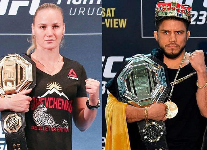 Чемпион UFC заявил о желании объединить мужской и женский титулы