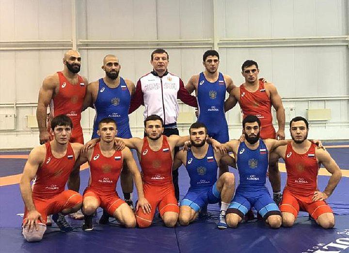 Определился состав сборной России по греко-римской борьбе на первенство мира U-23