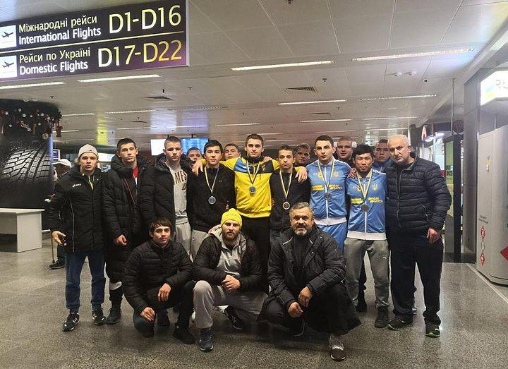Украинцы выиграли пять медалей на турнире в Швеции