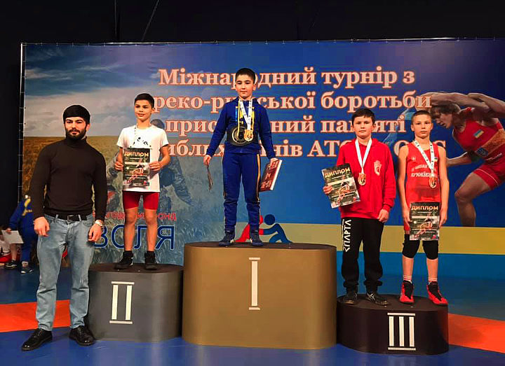 Борец из Николаева стал лучшим