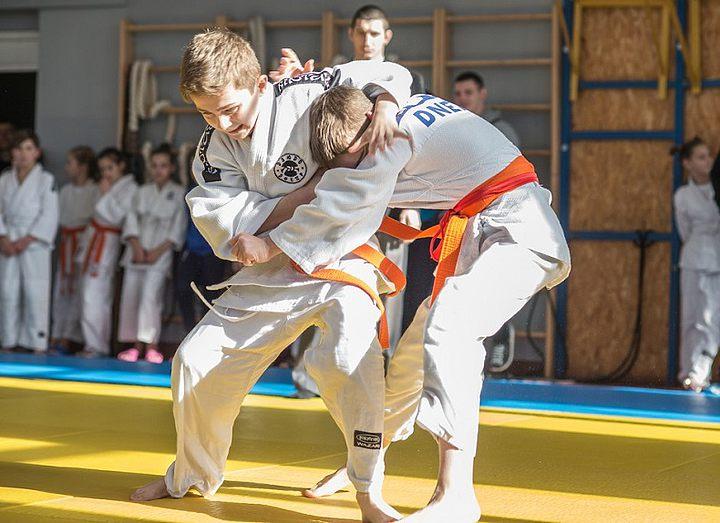 В Днепре стартовала Детская Лига дзюдо