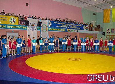 Команда ГрГУ  стала победителем финальных поединков Республиканской универсиады по греко-римской борьбе
