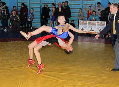 В Кривом Роге прошел зональный Чемпионат Украины по греко-римской борьбе