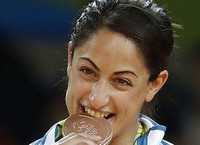 Израильская дзюдоистка продала медаль Рио-2016 для помощи медицинскому центру