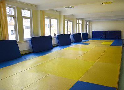 В Запорожье появился еще один зал для занятий дзюдо