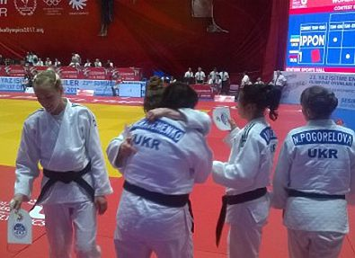 Женская сборная Украины по дзюдо победила на Дефлимпиаде-2017
