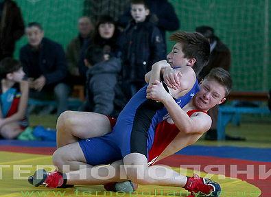 В Теребовле состоялся Всеукраинский турнир по вольной борьбе