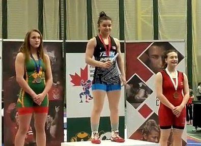 Осетинка Диана Арсагова стала чемпионкой Канады по вольной борьбе
