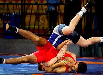 Победа молодежной сборной Ирана по греко-римской борьбе в чемпионате Азии