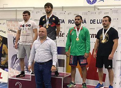 Пять медалей из Румынии