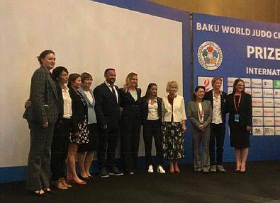 В Баку обсудили гендерное равноправие в дзюдо