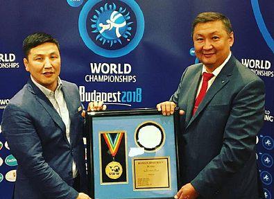 Имя Романа Дмитриева включили в Зал Славы UWW