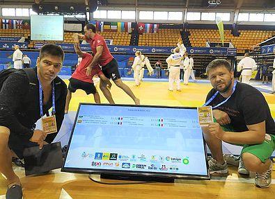 Украинцы дебютировали на Чемпионате Европы по ката