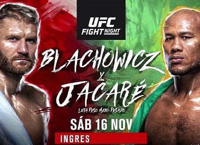 РЕЗУЛЬТАТЫ И БОНУСЫ UFC FIGHT NIGHT 164: BLACHOWICZ VS. JACARE