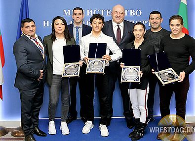 Министр спорта Болгарии наградил лауреатов «Евро-2020»