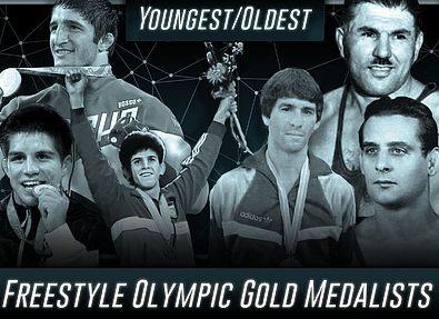 Олимпийская история: топ самых молодых и возрастных олимпийских победителей по вольной борьбе