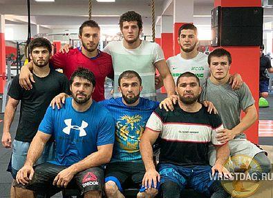 Дагестанские легионеры готовятся к Кубку мира