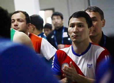 Борец Егор Дмитриев повесил борцовки на гвоздь