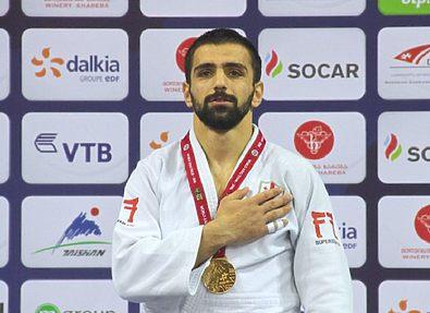 Сборная Грузии по дзюдо завоевала еще одну медаль на турнире в Казани