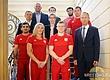 Польских борцов приняли в министерстве спорта страны
