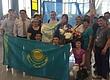 В Астане встретили единственную чемпионку Азии по женской борьбе среди молодёжи
