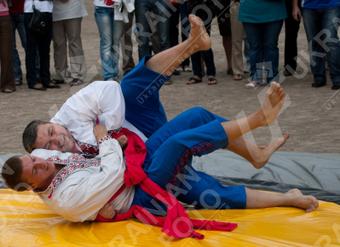 Украинская борьба на поясах
