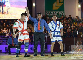 II Международный турнир по казах курес